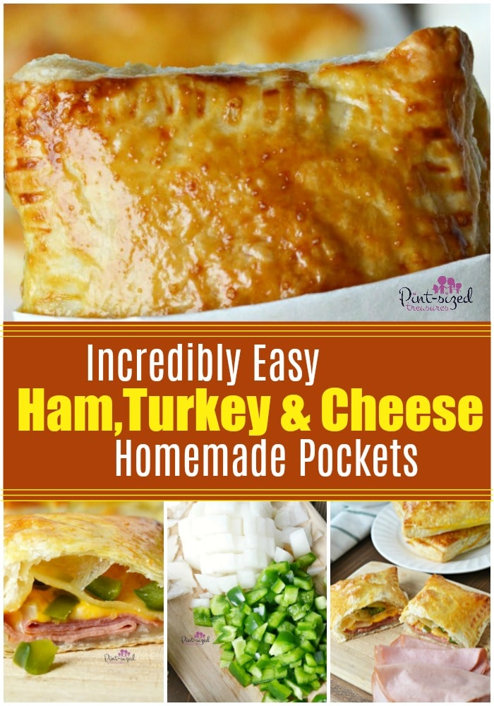 Ham, turkey and cheese pockets are asimpleway to have comfort food ready at all times!