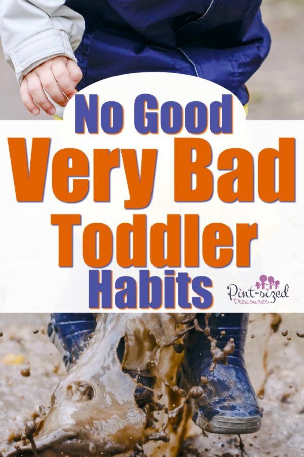I needed to read this! It helped me see my toddler's bad habits and gave me ideas on how to stop them! #Parenting #motherhood #raisingtoddlers #toddlermom #teachingtoddlers