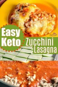 The easiest Keto Zucchini lasagna you'll find! Enjoy lasagna the low-carb way without sacrificing your favorite comfort food! #keto #Ketodiet #Ketolasagna #Lasagna #zucchinilasagna #easyveggielasagna #Easyzucchinirecipes #zucchinirecipes #easylowcarblasagna #lowcarb #Lowcarbmeal #lowcarbrecipe #Lowcarblasagna
