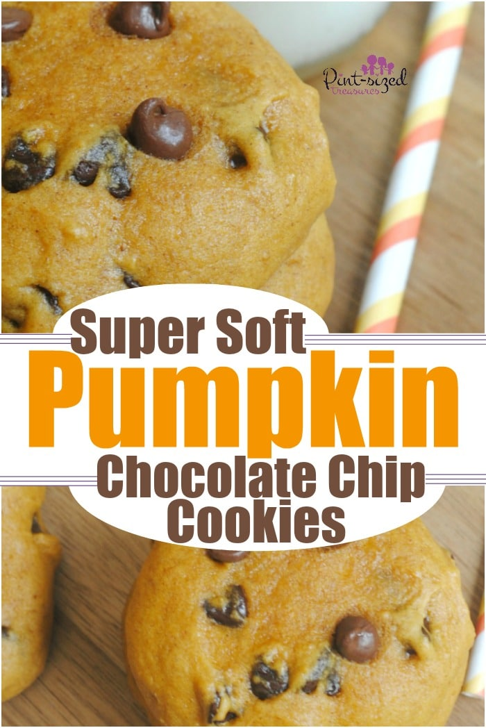 Super soft pumpkin chocolate chip cookies are the perfect dessert for pumpkin season! Fall, Thanksgiving both need extra does of pumpkin treats! These pumpkin cookies are packed with chocolate chips and are super simple to bake! #pumpkincookies #easypumpkincookies #pumpkinchocolatechip #pumpkinrecipes #Pumpkindessert #Pumpkintreat #Pumpkinsnack #easypumpkinrecipes #chocolatechippumpkincookies #pumpkinchocolatecookies