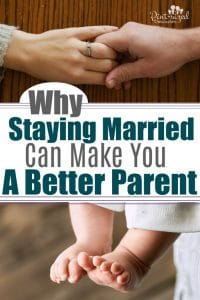 Can staying married actually make you a better parent? Most of the time --- YES!! Find out why you should stay committed to your spouse and avoid divorce in order to be a better parent! #Marriage #Parenting #marriagehelp #Parentingtips #truth #family #Marriagehelp #moms #motherhood #raisingkids #Christianparents #Christianmoms #Christianmarriage #relatioinships