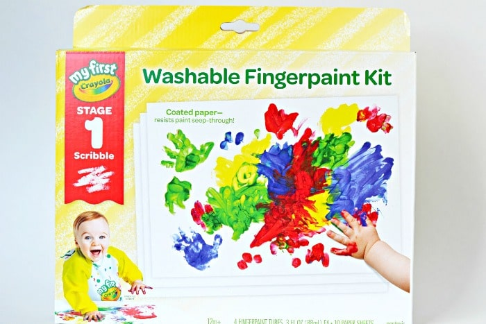 materials needed to created handprint canvas