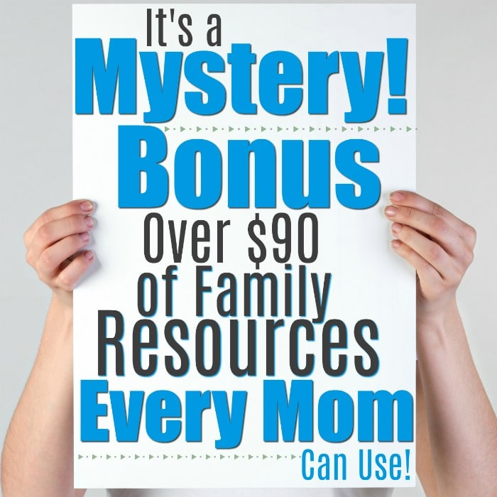 mystery bonus for moms