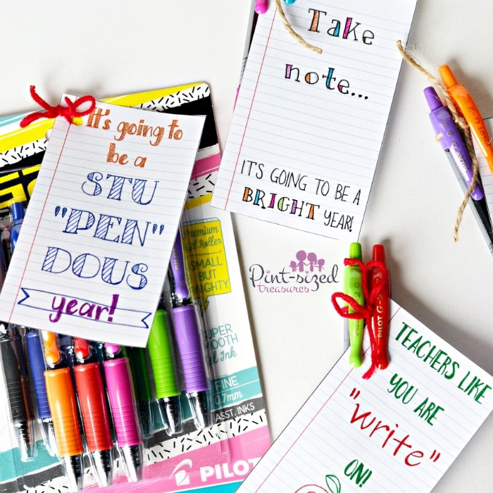 Easy teacher appreciation cards kids can make