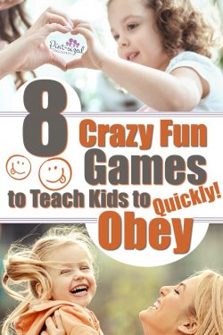 Kids love learning with games! These games are perfect to help your kids learn the importance of obeying the leaders in there lives --- including parents and teachers! These games for kids are simple, but super-fun! #gamesthatteach #gamesforkids #teachingkids #raisingkids #Christianmoms #parentingtips #Parenthelp #parentinghacks #Motherhood #momlife #teachkids #kidcharacter #goodmanners