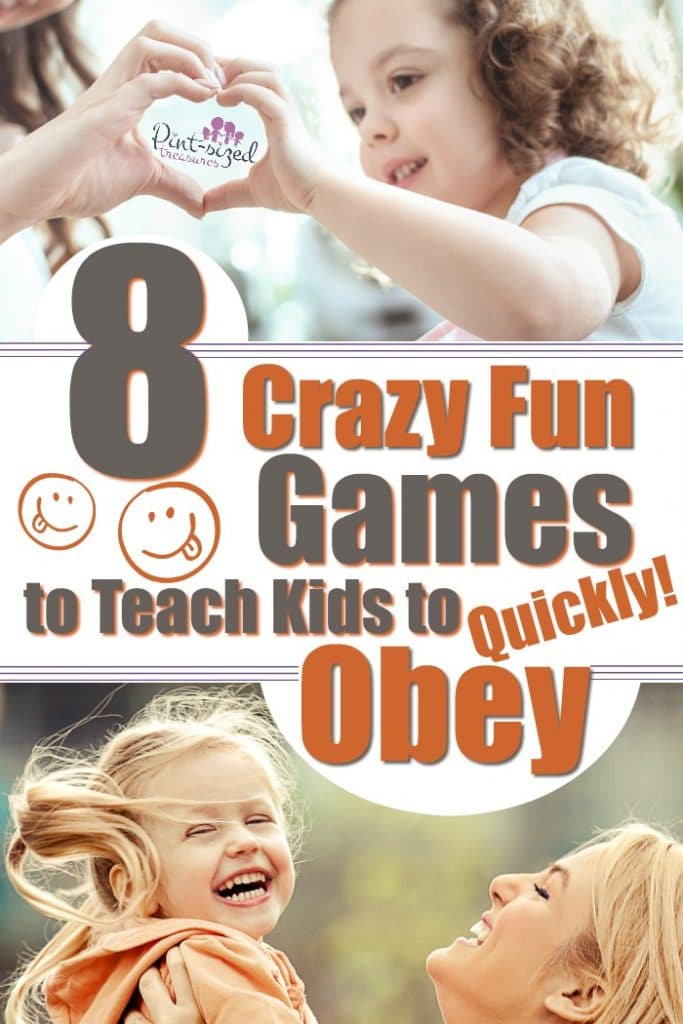 Kids love learning with games! These games are perfect to help your kids learn the importance of obeying the leaders in there lives --- including parents and teachers!