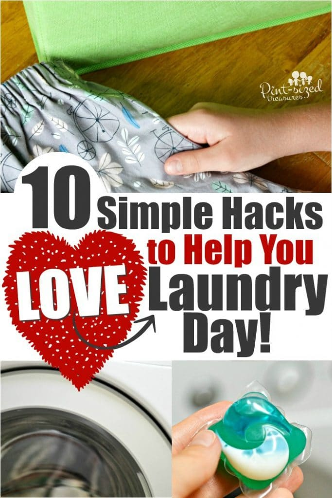 10 Simple Hacks to Help You Love Laundry Day