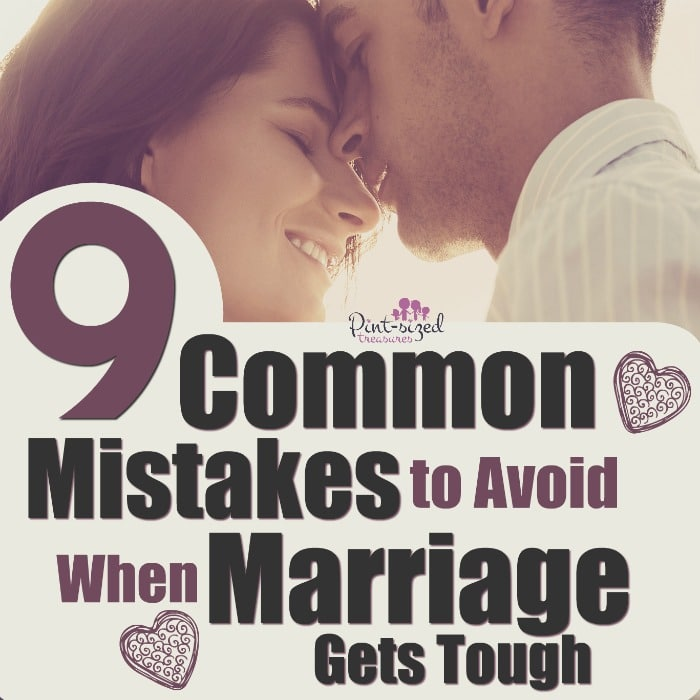 When marriage gets tough, don't make these common mistakes! #Marriagehelp #Marriagetips