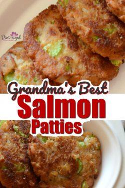 Grandma's Best Salmon Patties Recipe