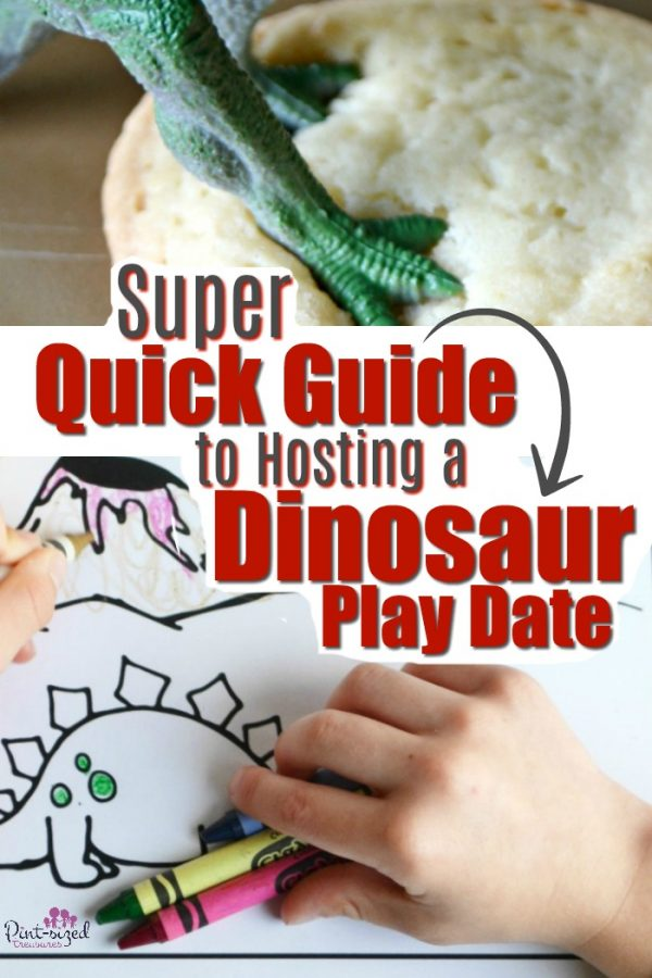 Play dates are always fun! you'll love this super quick guide to an amazing dinosaur play date that your kids and their friends will love! #ad #PlayWithPlaymobil #playdate #playdateideas #funforkids #kidsactivities #dinosaurs #dinosauractivity #dinosaurparty #TRex