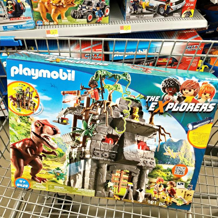 PLAYMOBIL Trex set for dinosaur playdate