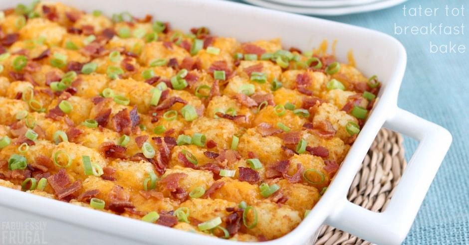 Easy make ahead breakfast casserole recipe