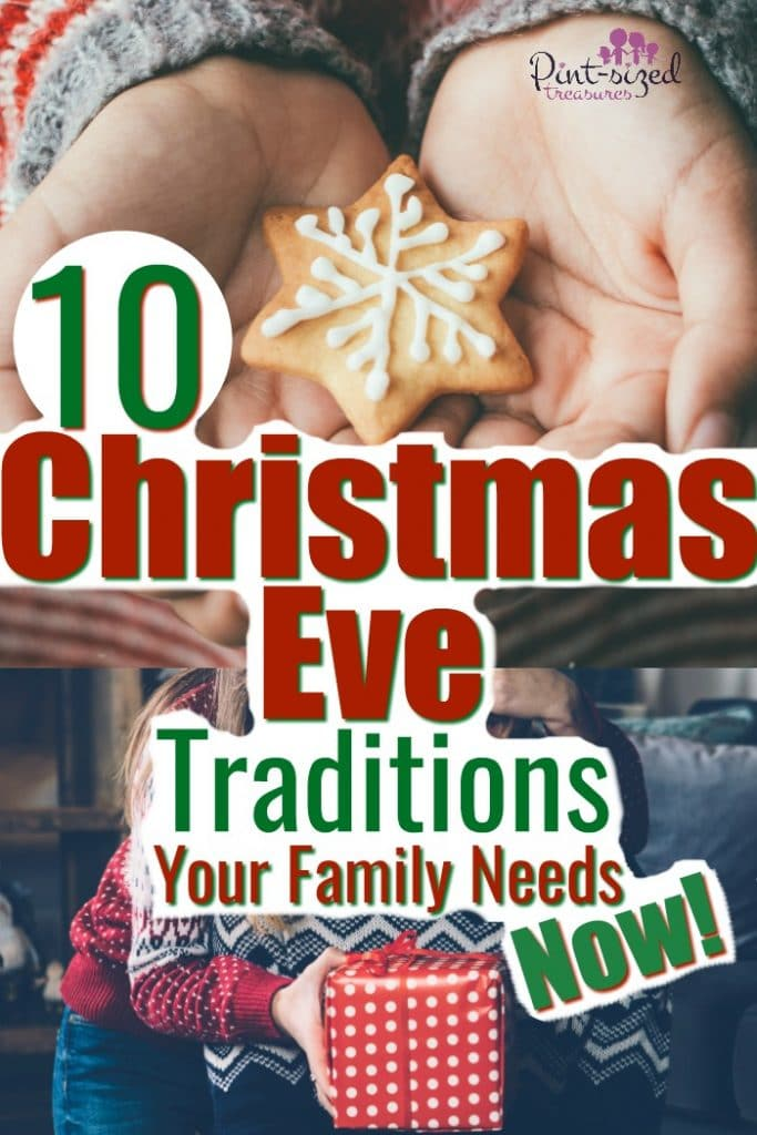 These 10 Christmas Eve Traditions are incredibly fun! They make families more close knit and add a special dash of magic to the Christmas holiday! #Christmas #Christmastraditions #ChristmasEve #familytraditions #holidays #Christmasholidays #familyChristmas #simpleChristmas