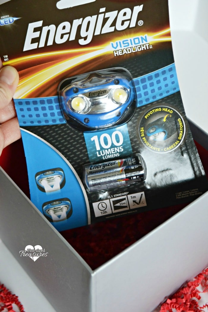 An Energizer LED Headlight is a creative gift idea for Christmas!