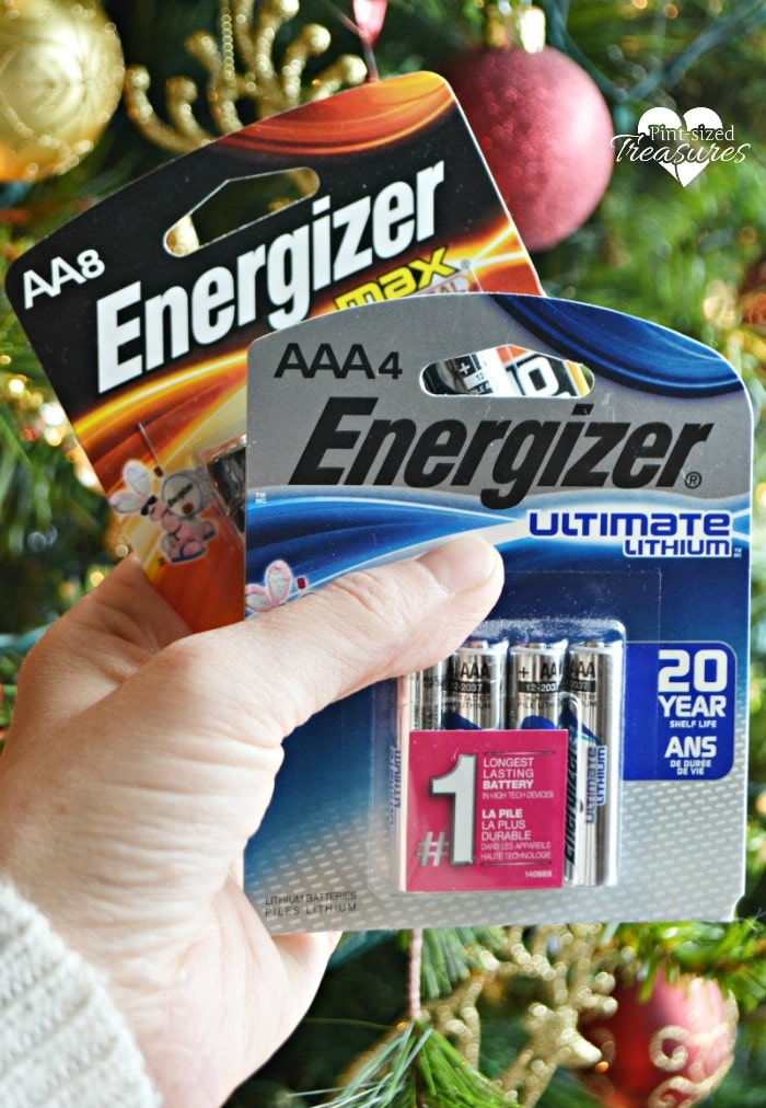 Stock up on Energizer Batteries for Christmas Toys