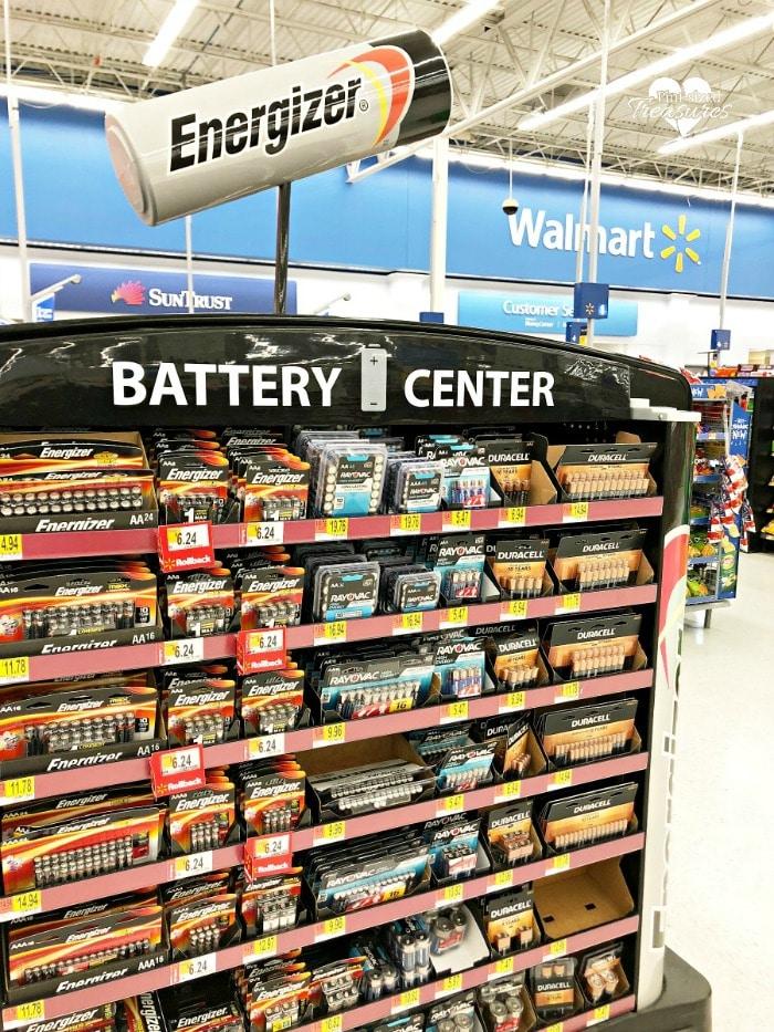 Shopping for Batteries