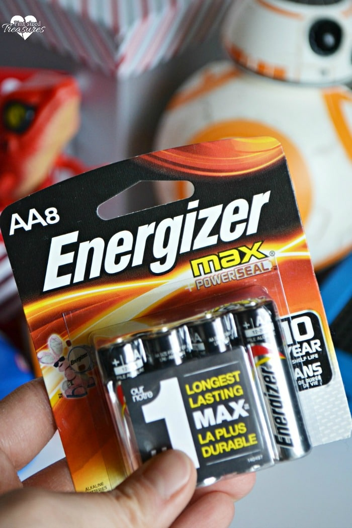 Stock up on batteries for toys at Christmas.