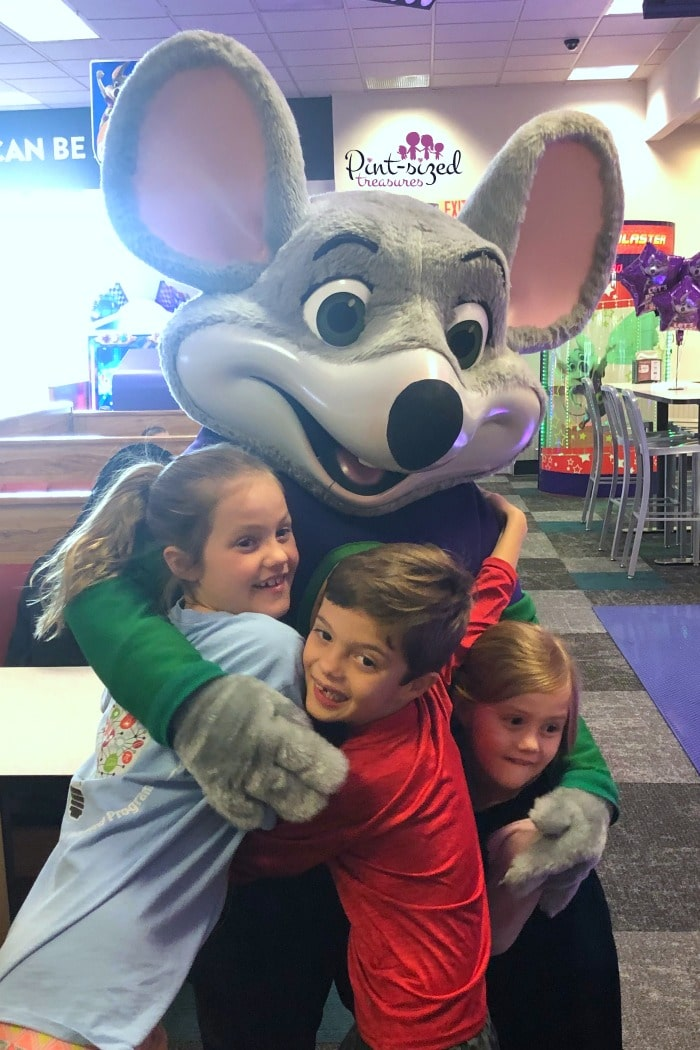 Making a tough mom day fun at Chuck E. Cheese's