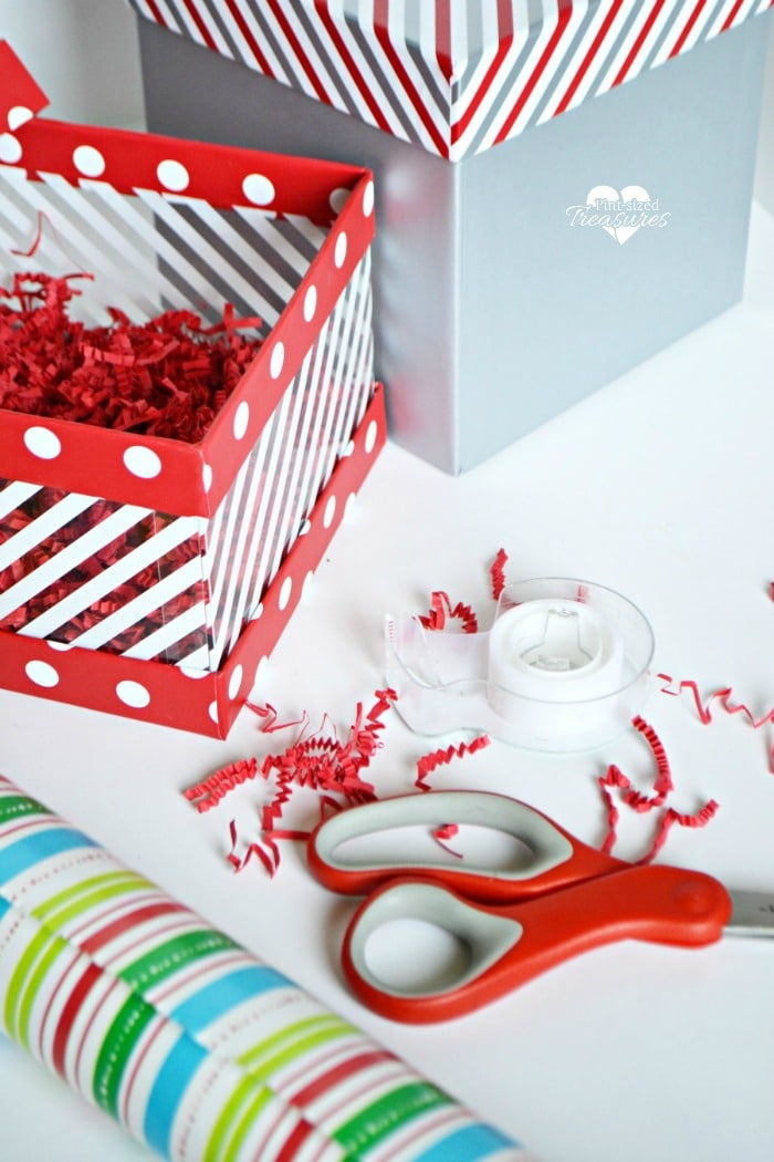 Wrap Christmas presents with great care and wrap boys presents with paper they'll love!