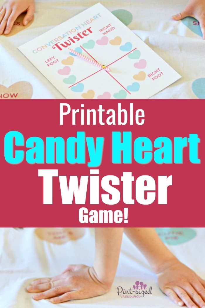 image about Twister Spinner Printable identify Printable Communication Hearts Twister Recreation · Pint-sized