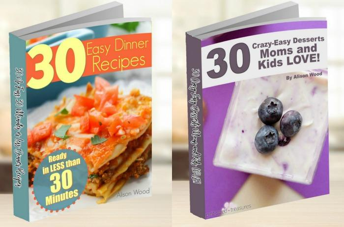 Easy recipes for families