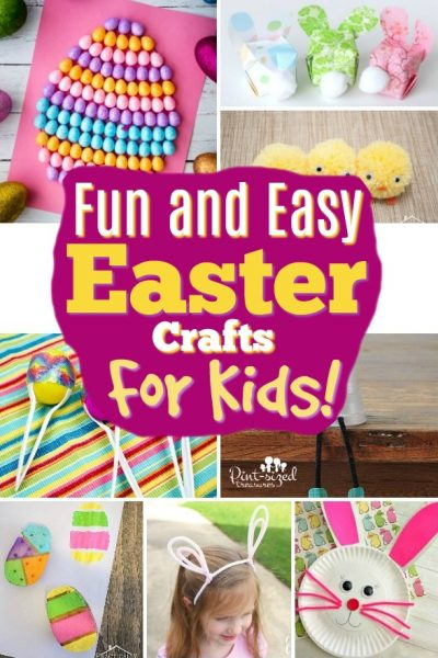 Fun and Easy Easter Crafts for Kids that You Need to Try Now to Make Easter FUN!