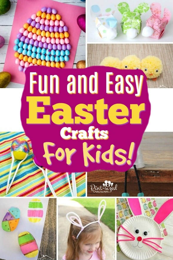 27 Easter Crafts for Kids that Are Incredibly Fun!