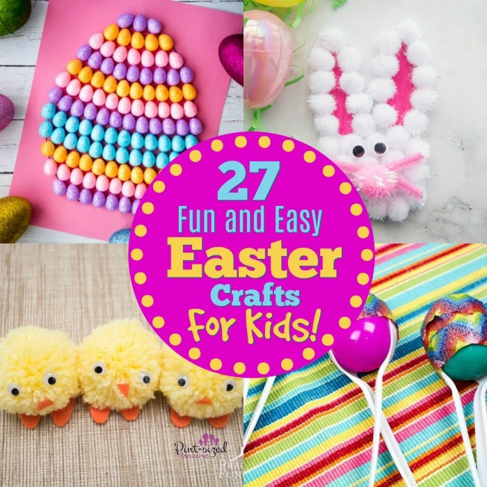 easter crafts for kids that are easy