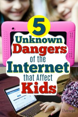 Internet safety is a must! Find out five unknown dangers of the internet that affect kids! A must-read for every parent! #pintsizedtreasures #sponsored #internetsafety #SaferInternetDay #BeInternetAwesome #parenting #parentingtips #parentingblog