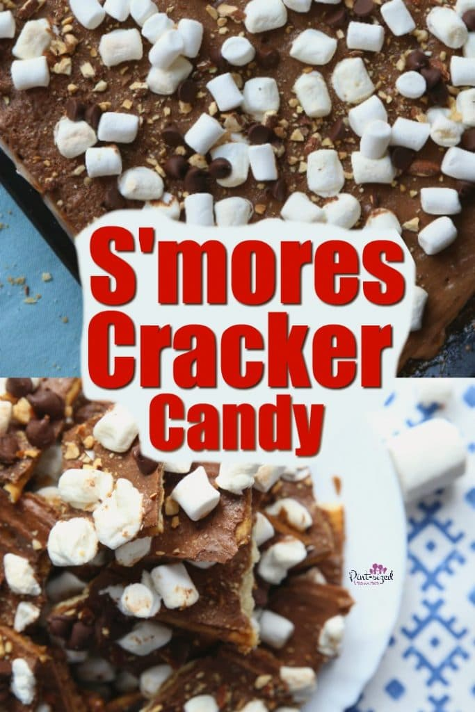 Easy S'mores Cracker Candy