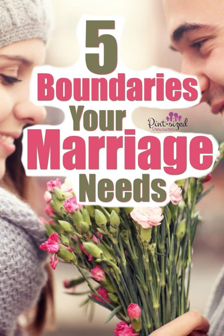Marriage is precious. Make sure you're protecting your marriage with these five simple boundaries! This is one of the best marriage tips I can possibly give you...protect your marriage...at ALL costs!