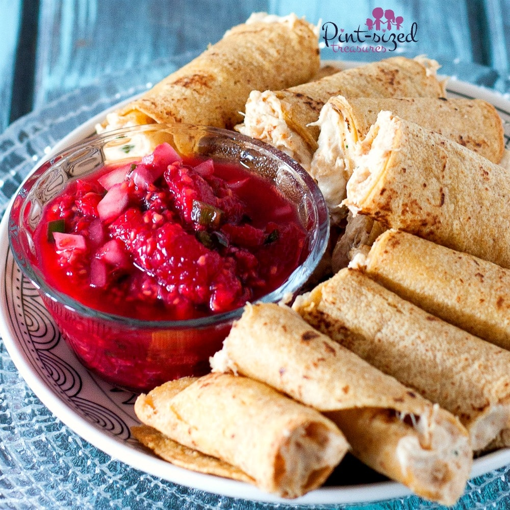 Easy crab rangoon taquitos recipes that makes a perfect appetizer!