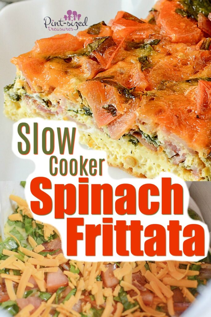 Slow Cooker Spinach Frittata