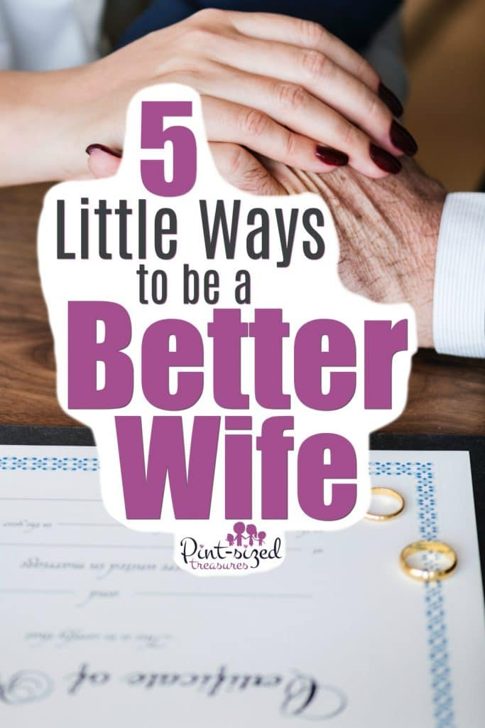 find out how to be a better wife