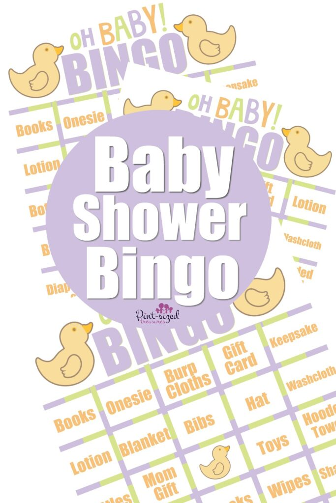 games for baby shower