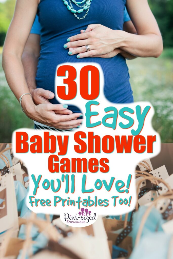 30 Easy Baby Shower Games that are FUN!