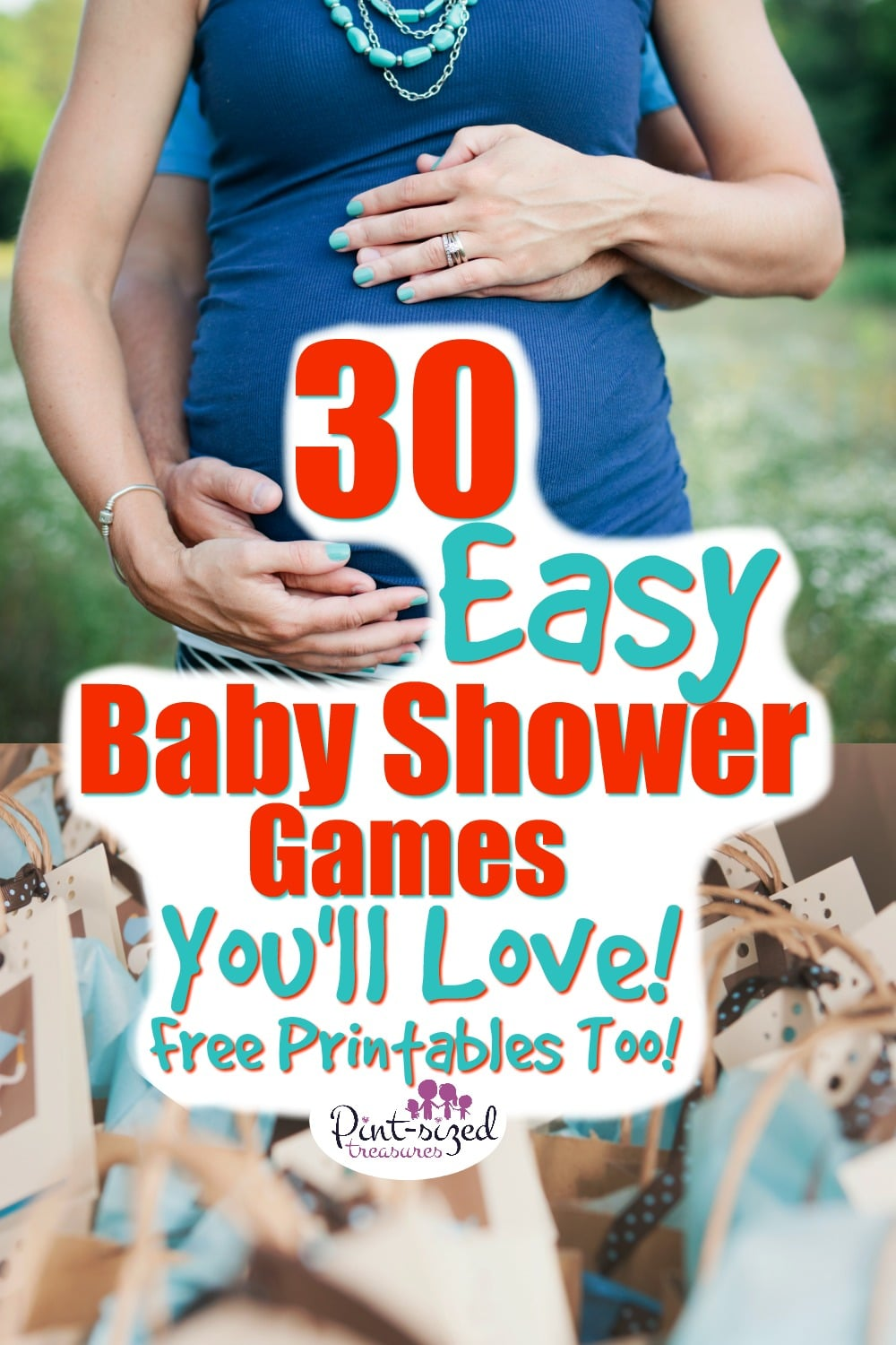picture regarding Free Printable Baby Shower Bingo Cards for 30 People called 30 Simple Little one Shower Online games that are Exciting! · Pint-sized Treasures
