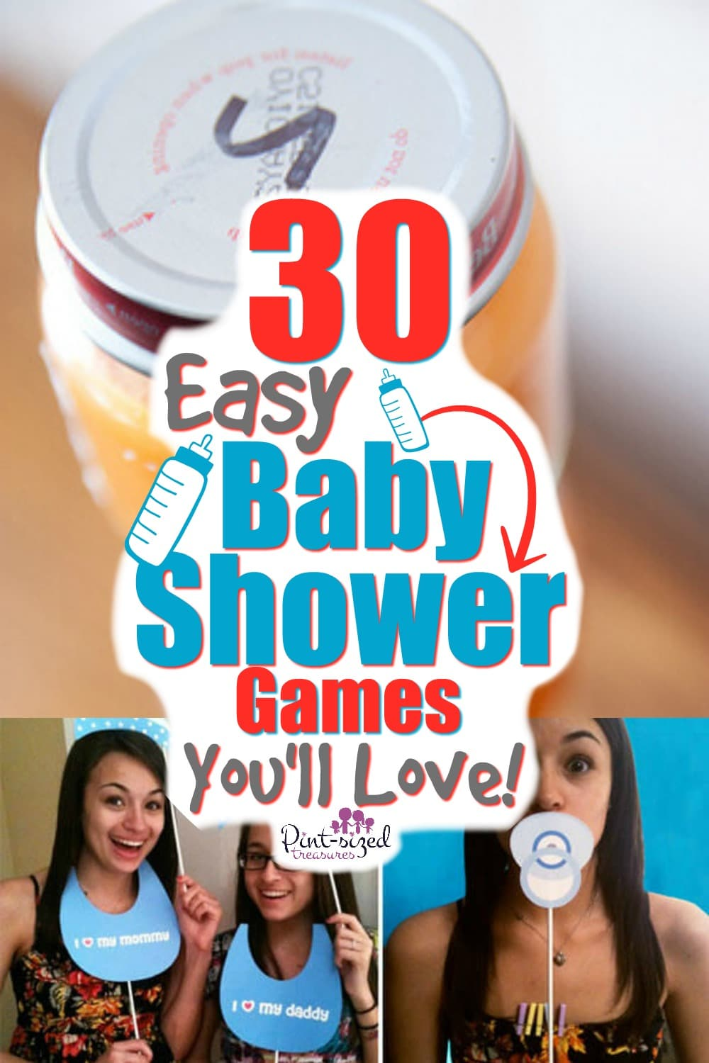 easy baby shower games you'll love