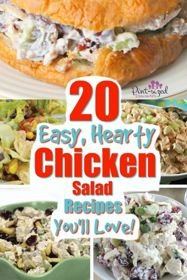 easy chicken salad recipes you'll love