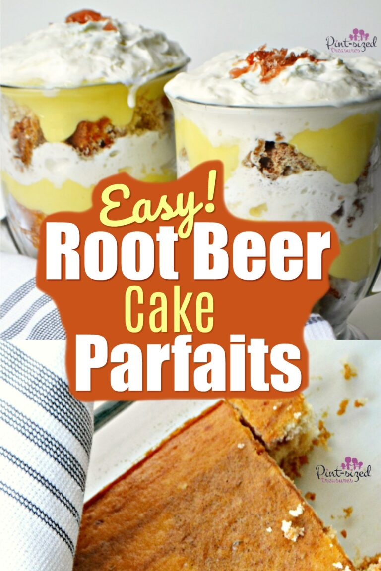 Easy Root Beer Cake Parfait Desserts