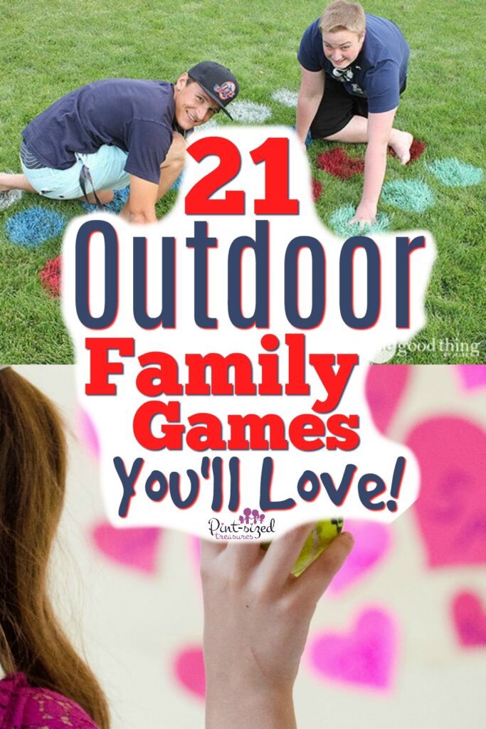 21 Creative Outdoor Games for Families and Friends