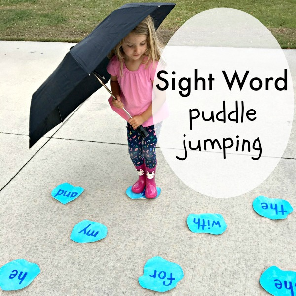 learning kindergarten sight words