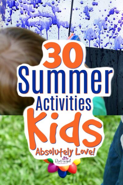 Summer activities that kids love!