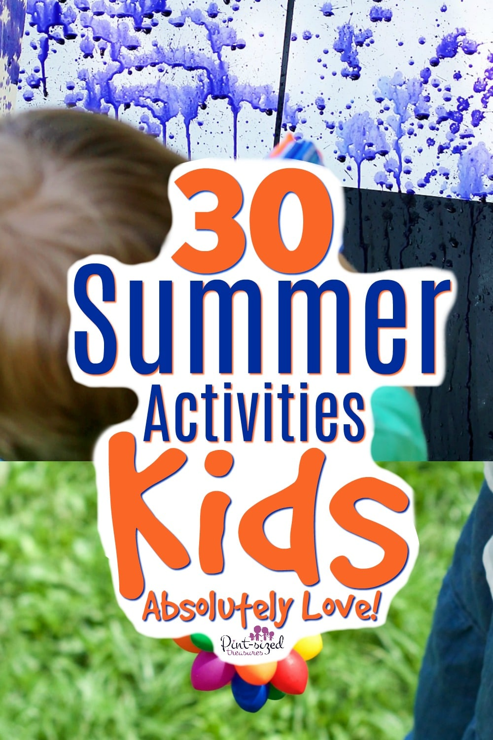 Summer activities kids LOVE!