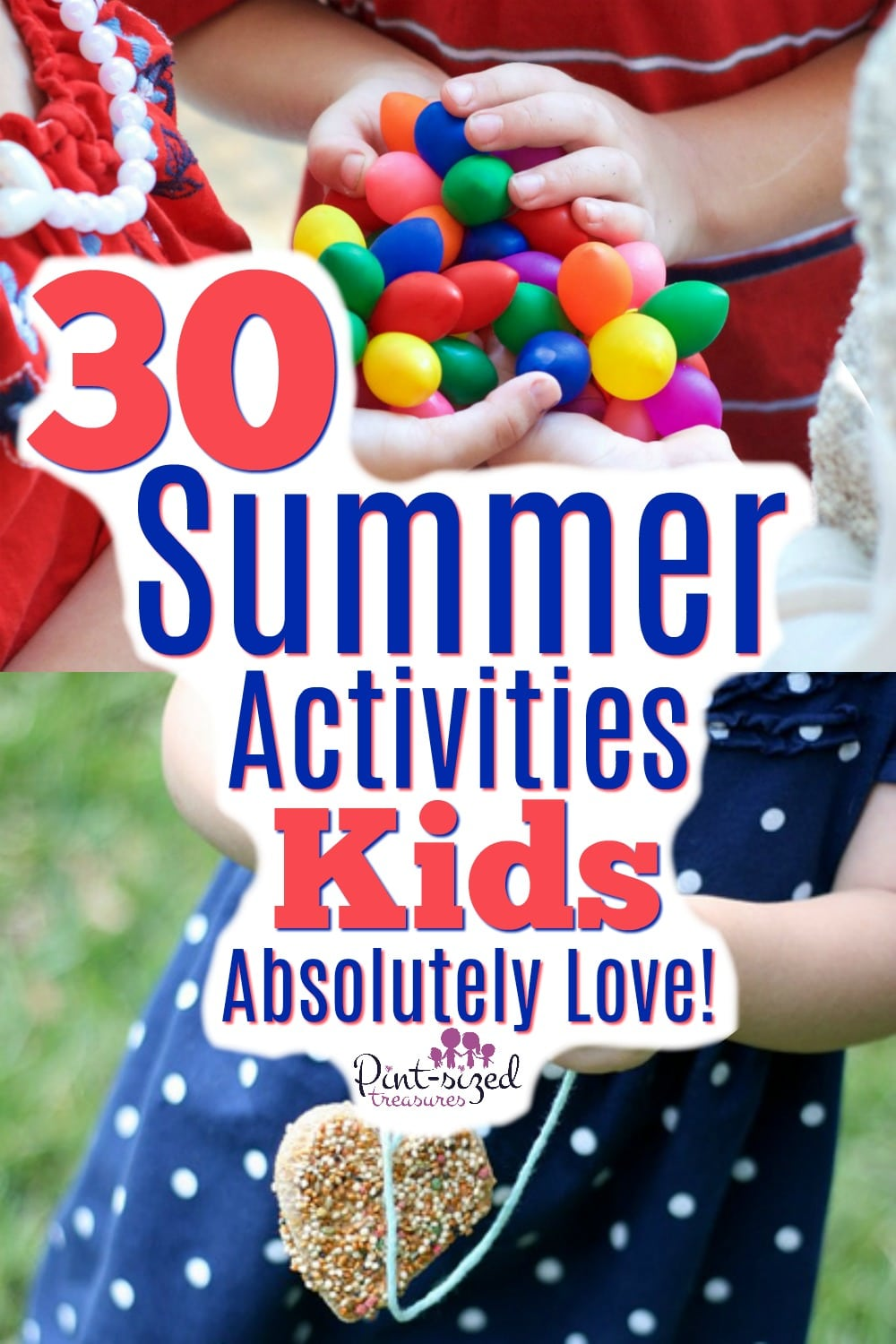30 Activities for Kids to Do in the Summer