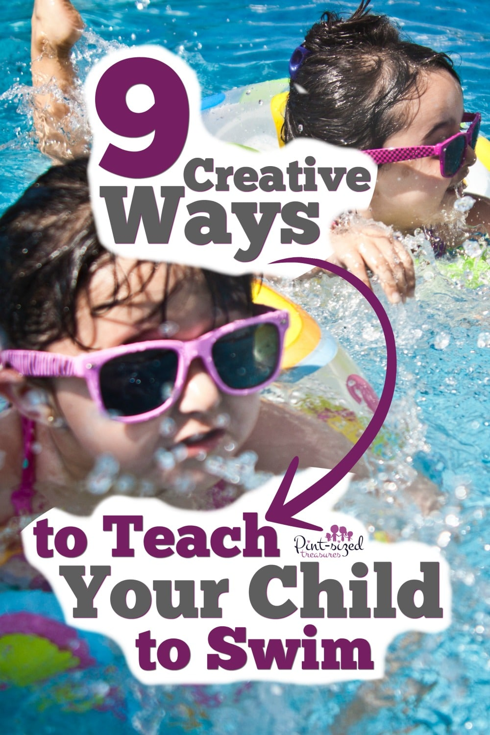 Teach your child to swim with these creative ideas