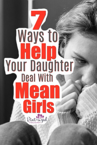 how to help daughters deal with mean girls