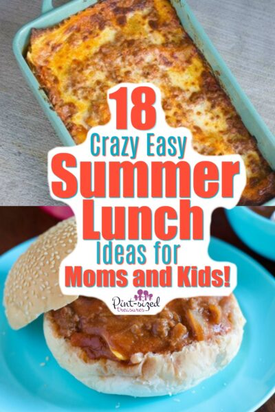 easy summer lunch ideas