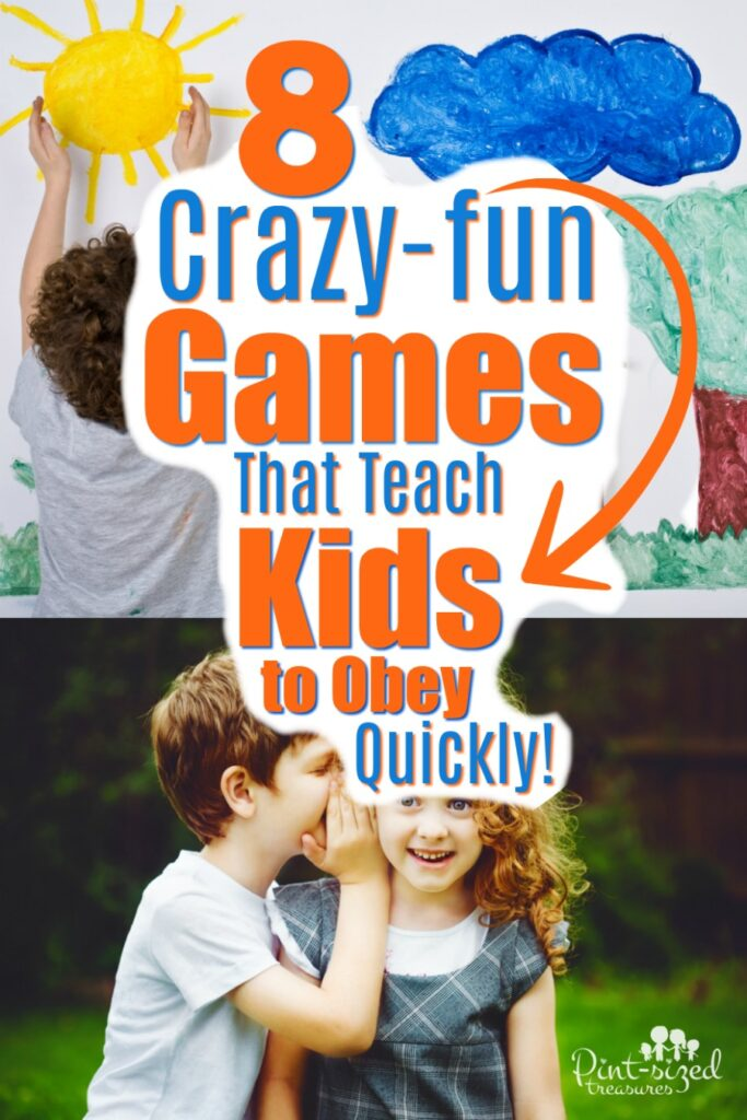 games that teach kids to obey