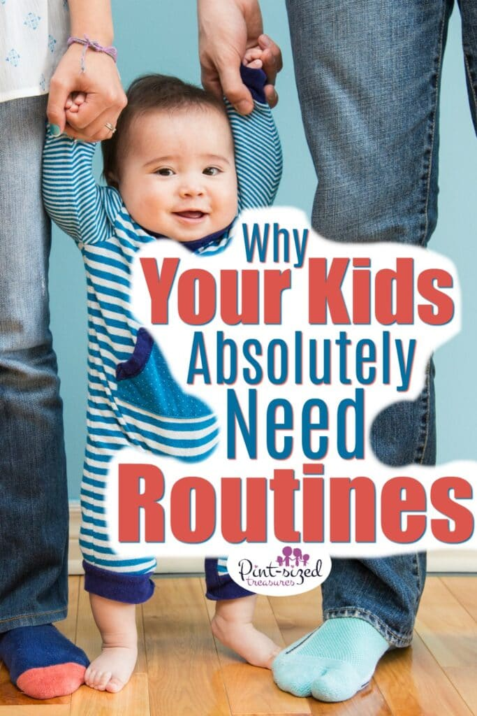 Why your kids need routines